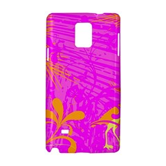 Spring Tropical Floral Palm Bird Samsung Galaxy Note 4 Hardshell Case