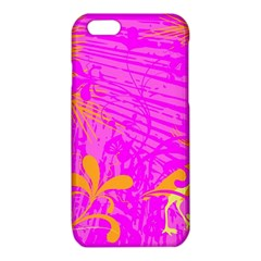 Spring Tropical Floral Palm Bird iPhone 6/6S TPU Case