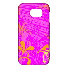 Spring Tropical Floral Palm Bird Galaxy S6