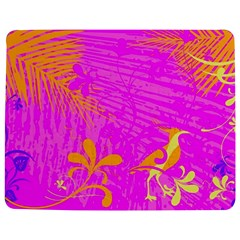 Spring Tropical Floral Palm Bird Jigsaw Puzzle Photo Stand (Rectangular)