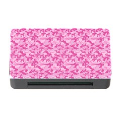 Shocking Pink Camouflage Pattern Memory Card Reader with CF