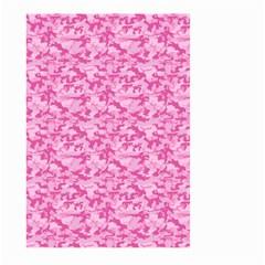 Shocking Pink Camouflage Pattern Large Garden Flag (Two Sides)