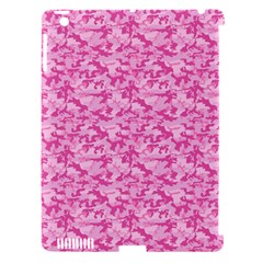 Shocking Pink Camouflage Pattern Apple iPad 3/4 Hardshell Case (Compatible with Smart Cover)