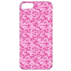 Shocking Pink Camouflage Pattern Apple Iphone 5 Classic Hardshell Case
