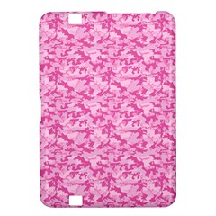 Shocking Pink Camouflage Pattern Kindle Fire Hd 8 9
