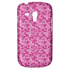 Shocking Pink Camouflage Pattern Galaxy S3 Mini