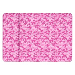 Shocking Pink Camouflage Pattern Samsung Galaxy Tab 8 9  P7300 Flip Case