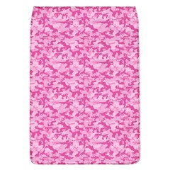 Shocking Pink Camouflage Pattern Flap Covers (L)