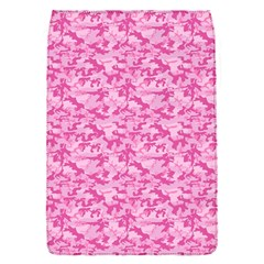 Shocking Pink Camouflage Pattern Flap Covers (S)