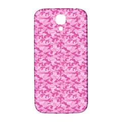 Shocking Pink Camouflage Pattern Samsung Galaxy S4 I9500/I9505  Hardshell Back Case