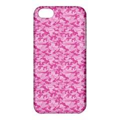 Shocking Pink Camouflage Pattern Apple iPhone 5C Hardshell Case