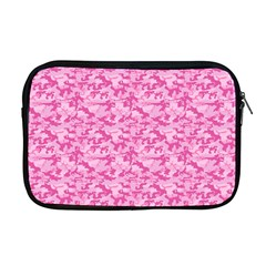 Shocking Pink Camouflage Pattern Apple Macbook Pro 17  Zipper Case