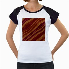 Stripes Course Texture Background Women s Cap Sleeve T