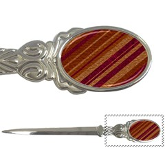 Stripes Course Texture Background Letter Openers