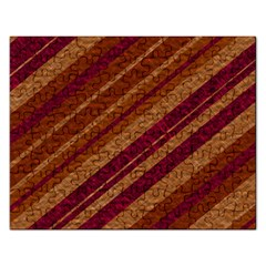 Stripes Course Texture Background Rectangular Jigsaw Puzzl