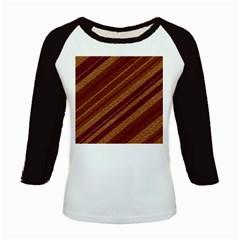 Stripes Course Texture Background Kids Baseball Jerseys
