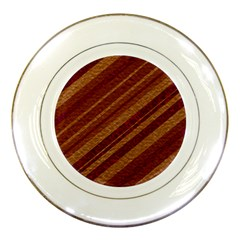Stripes Course Texture Background Porcelain Plates