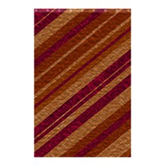 Stripes Course Texture Background Shower Curtain 48  x 72  (Small)