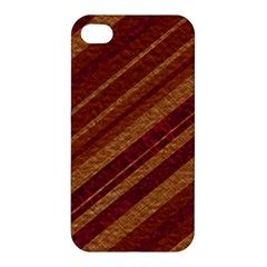Stripes Course Texture Background Apple Iphone 4/4s Hardshell Case