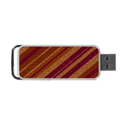 Stripes Course Texture Background Portable USB Flash (One Side)