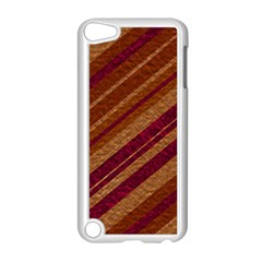 Stripes Course Texture Background Apple iPod Touch 5 Case (White)
