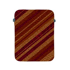 Stripes Course Texture Background Apple Ipad 2/3/4 Protective Soft Cases