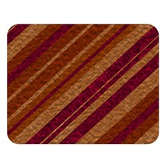 Stripes Course Texture Background Double Sided Flano Blanket (large)