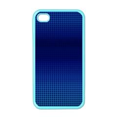 Blue Dot Apple iPhone 4 Case (Color)