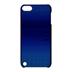 Blue Dot Apple iPod Touch 5 Hardshell Case with Stand