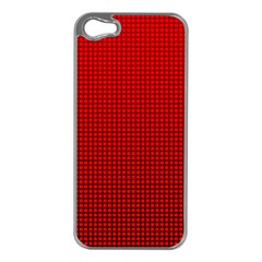 Redc Apple iPhone 5 Case (Silver)