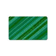 Stripes Course Texture Background Magnet (Name Card)