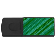 Stripes Course Texture Background USB Flash Drive Rectangular (4 GB)