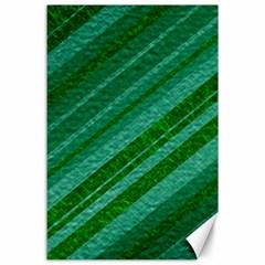 Stripes Course Texture Background Canvas 24  X 36