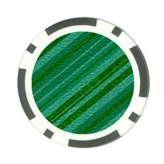 Stripes Course Texture Background Poker Chip Card Guard (10 pack)