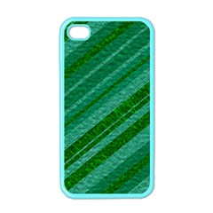 Stripes Course Texture Background Apple Iphone 4 Case (color)