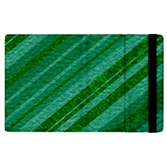 Stripes Course Texture Background Apple Ipad 3/4 Flip Case
