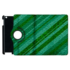 Stripes Course Texture Background Apple Ipad 2 Flip 360 Case