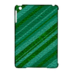 Stripes Course Texture Background Apple Ipad Mini Hardshell Case (compatible With Smart Cover)