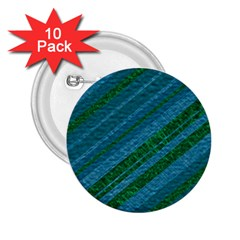 Stripes Course Texture Background 2.25  Buttons (10 pack)