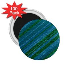 Stripes Course Texture Background 2.25  Magnets (100 pack)