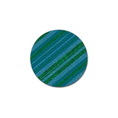Stripes Course Texture Background Golf Ball Marker (4 pack)