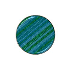 Stripes Course Texture Background Hat Clip Ball Marker