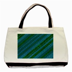 Stripes Course Texture Background Basic Tote Bag