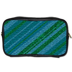 Stripes Course Texture Background Toiletries Bags