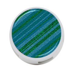 Stripes Course Texture Background 4 Port Usb Hub (two Sides)