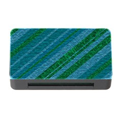 Stripes Course Texture Background Memory Card Reader With Cf