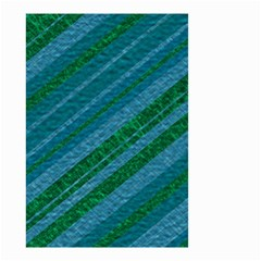 Stripes Course Texture Background Small Garden Flag (Two Sides)