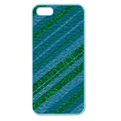 Stripes Course Texture Background Apple Seamless Iphone 5 Case (color)