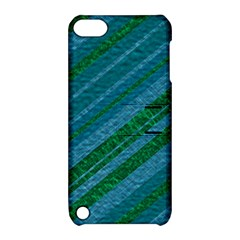 Stripes Course Texture Background Apple Ipod Touch 5 Hardshell Case With Stand