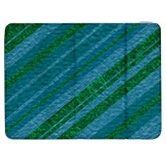 Stripes Course Texture Background Samsung Galaxy Tab 7  P1000 Flip Case
